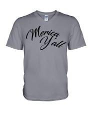 'Merica Y'all V-Neck T-Shirt thumbnail