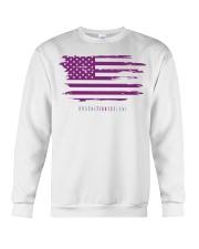 No One Fights Alone- Flag Crewneck Sweatshirt thumbnail