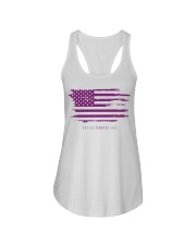No One Fights Alone- Flag Ladies Flowy Tank thumbnail