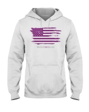 No One Fights Alone- Flag Hooded Sweatshirt thumbnail