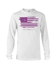 No One Fights Alone- Flag Long Sleeve Tee thumbnail