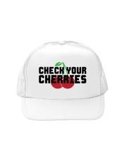 Check Your Cherries - Trucker Hat Trucker Hat front