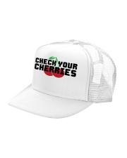 Check Your Cherries - Trucker Hat Trucker Hat left-angle