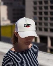 Check Your Cherries - Trucker Hat Trucker Hat lifestyle-trucker-hat-front-1