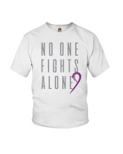 No One Fights Alone- Ribbon Youth T-Shirt thumbnail