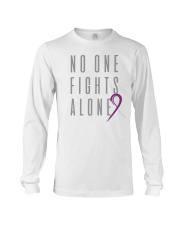 No One Fights Alone- Ribbon Long Sleeve Tee thumbnail