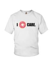 I Donut Care Youth T-Shirt thumbnail