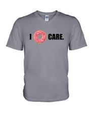 I Donut Care V-Neck T-Shirt thumbnail