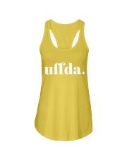 Uffda Ladies Flowy Tank front