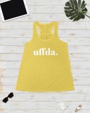 Uffda Ladies Flowy Tank lifestyle-bellaflowy-tank-front-5