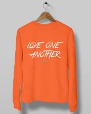 Love One Another Crewneck Sweatshirt lifestyle-unisex-sweatshirt-front-10