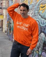 Love One Another Crewneck Sweatshirt lifestyle-unisex-sweatshirt-front-4