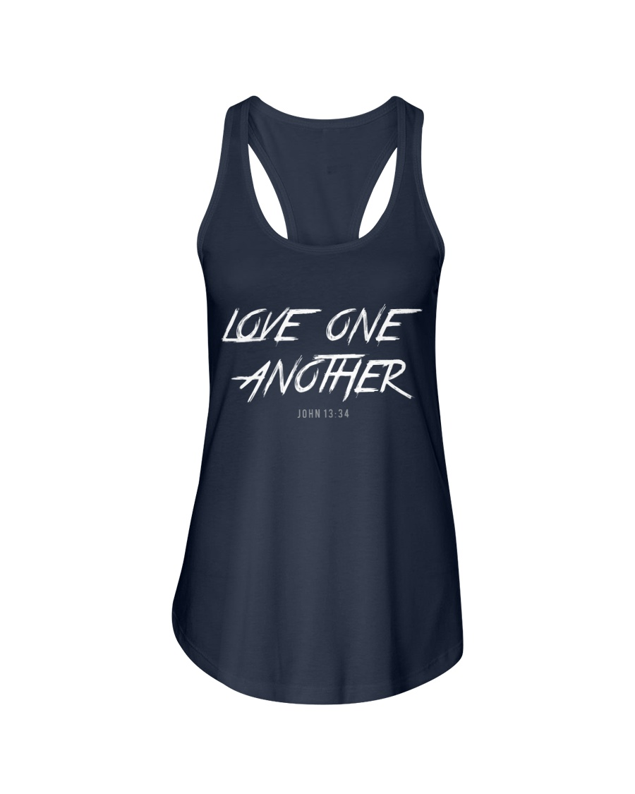 Love One Another Ladies Flowy Tank
