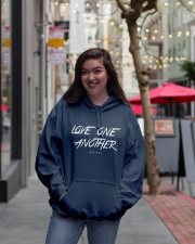Love One Another Hooded Sweatshirt lifestyle-unisex-hoodie-front-2