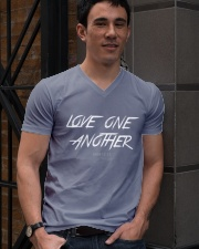 Love One Another V-Neck T-Shirt lifestyle-mens-vneck-front-2