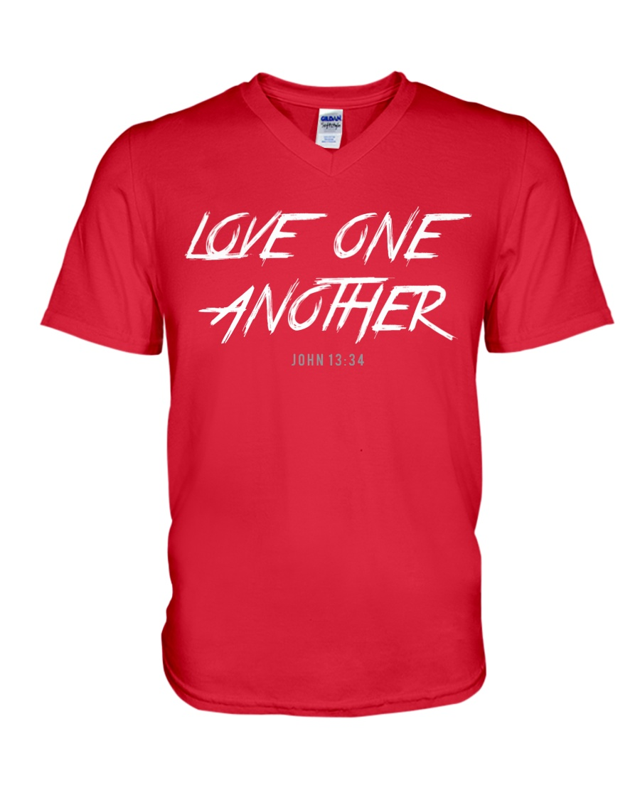 Love One Another V-Neck T-Shirt
