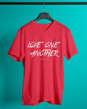 Love One Another V-Neck T-Shirt lifestyle-mens-vneck-front-3
