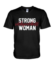 Strong Independent Woman V-Neck T-Shirt thumbnail