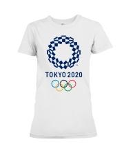 Tokyo2020 Premium Fit Ladies Tee thumbnail