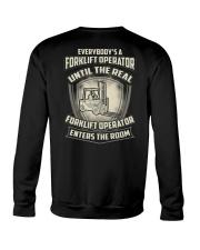 Special Shirt - Forklift Operators Crewneck Sweatshirt thumbnail