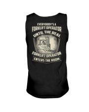 Special Shirt - Forklift Operators Unisex Tank thumbnail