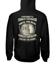 Special Shirt - Forklift Operators Hooded Sweatshirt thumbnail