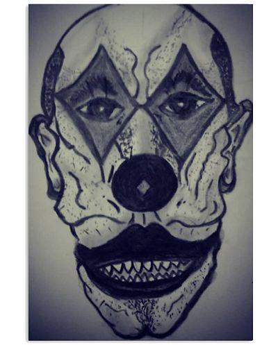 Clown Canvas wall art