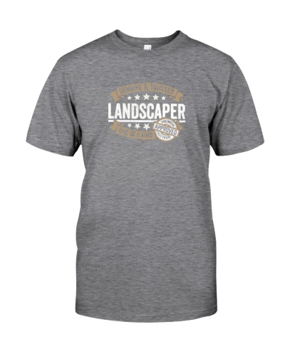 Landscaper gift trusted profession job