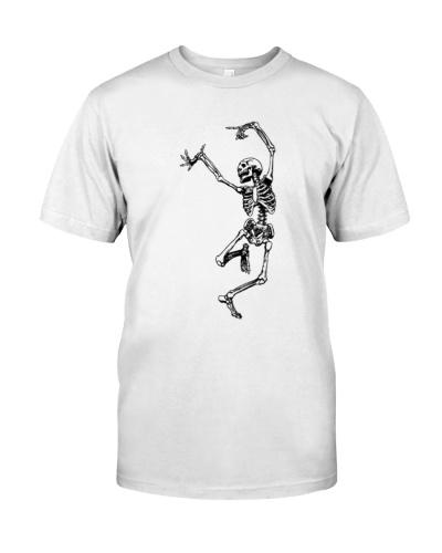 Funny Dance Skeleton T-Shirts