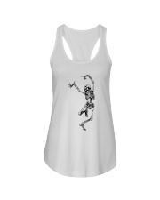 Funny Dance Skeleton T-Shirts Ladies Flowy Tank thumbnail