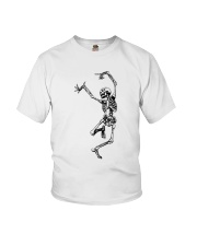 Funny Dance Skeleton T-Shirts Youth T-Shirt thumbnail