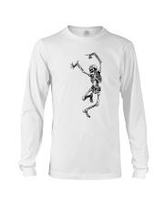Funny Dance Skeleton T-Shirts Long Sleeve Tee thumbnail