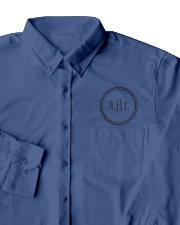 Embroidered Dress Shirt 3 Monogram Custom Designed Dress Shirt garment-embroidery-dressshirt-lifestyle-06