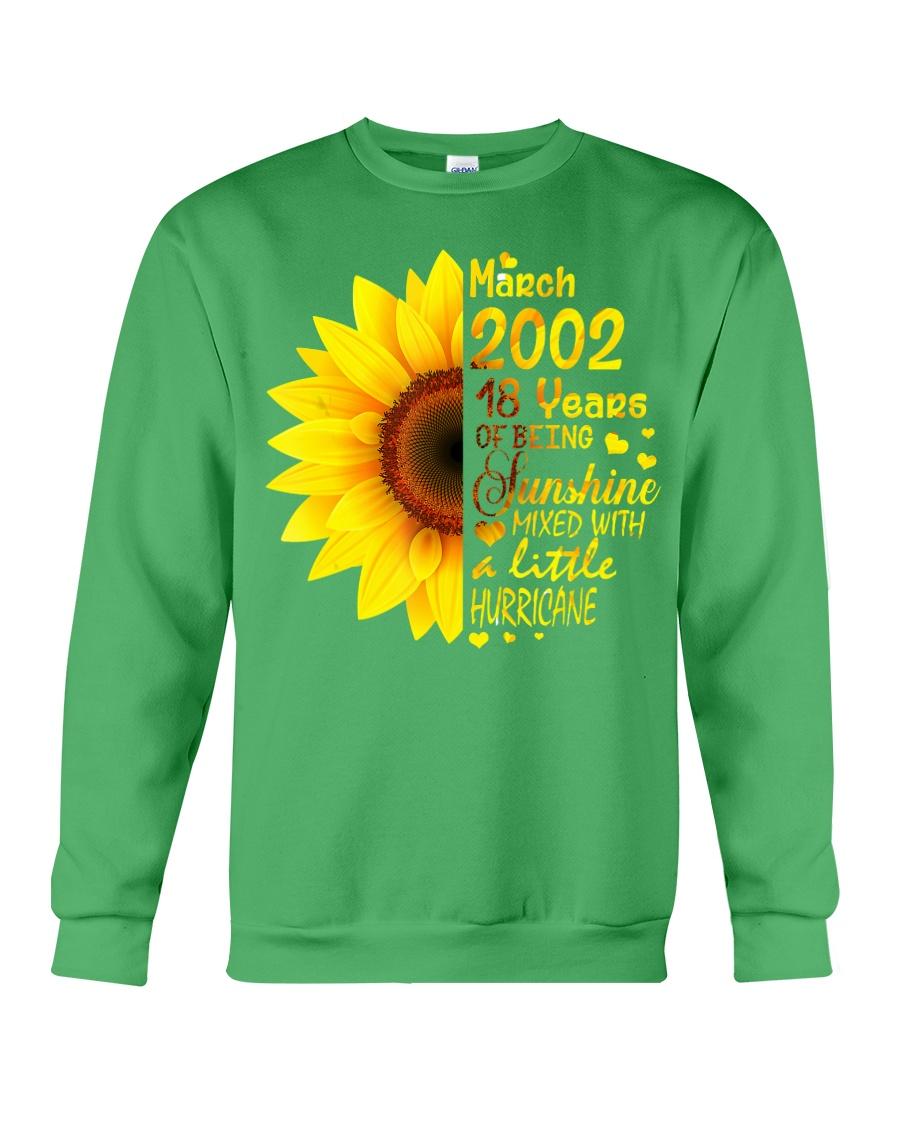 18th Birthday Gifts March 2002 1 Crewneck Sweatshirt