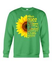 18th Birthday Gifts March 2002 1 Crewneck Sweatshirt front
