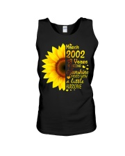 18th Birthday Gifts March 2002 1 Unisex Tank thumbnail