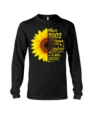 18th Birthday Gifts March 2002 1 Long Sleeve Tee thumbnail
