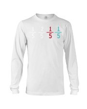 15 25 15 15 Funny Gift For M Long Sleeve Tee front