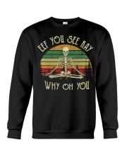 Eff You See Kay Why Oh U Ske Crewneck Sweatshirt thumbnail