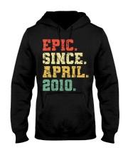 10 Years Old Shirt Gift- Epi Hooded Sweatshirt thumbnail