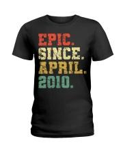 10 Years Old Shirt Gift- Epi Ladies T-Shirt thumbnail