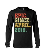 10 Years Old Shirt Gift- Epi Long Sleeve Tee front