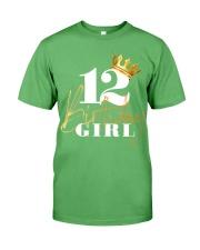 12th Birthday Girl Princess - 12 Premium Fit Mens Tee front
