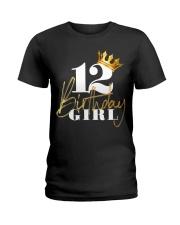 12th Birthday Girl Princess - 12 Ladies T-Shirt thumbnail