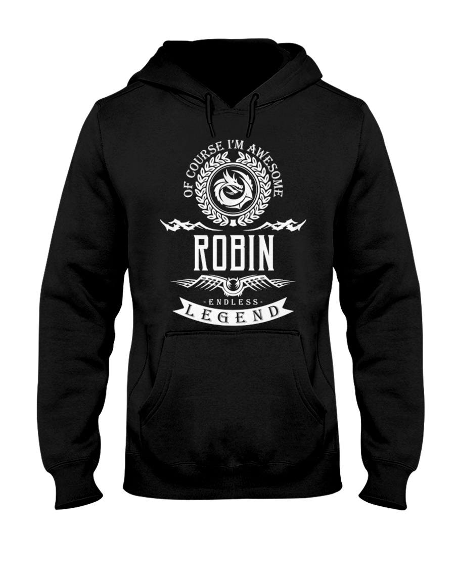 Robin Endless Legend 1 A23  Hooded Sweatshirt