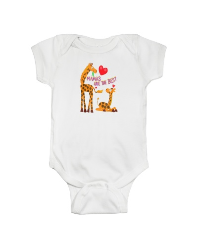 MOTHERS DAY GIRAFFES T-SHIRT