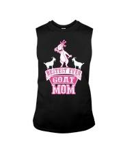 Bestest Ever Goat Mom MothersDay2016 Sleeveless Tee thumbnail