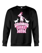 Bestest Ever Goat Mom MothersDay2016 Crewneck Sweatshirt thumbnail