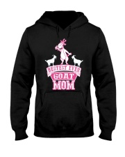 Bestest Ever Goat Mom MothersDay2016 Hooded Sweatshirt thumbnail