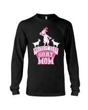 Bestest Ever Goat Mom MothersDay2016 Long Sleeve Tee thumbnail